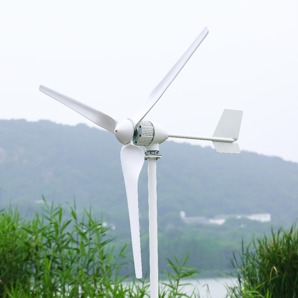 1kw horizontal axis wind turbine with MPPT charge controller 24v 48v used for marine, CE certificated1kw horizontal axis wind turbine with MPPT charge controller 24v 48v used for marine, CE certificated