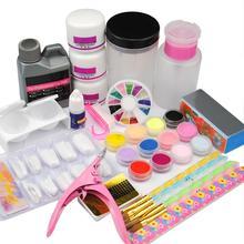 COSCELIA Acrylic Nail Set Acrylic Nail Glitter Nail Art All For Manicure Pedicure Tools Set And Kit 3pcs Acrylic Powder гладышева н авт сост журнал контроля и оценки безопасности в доо