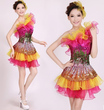 0be115584 New National Costumes Female Modern Dance Costumes Dance Clothing ...