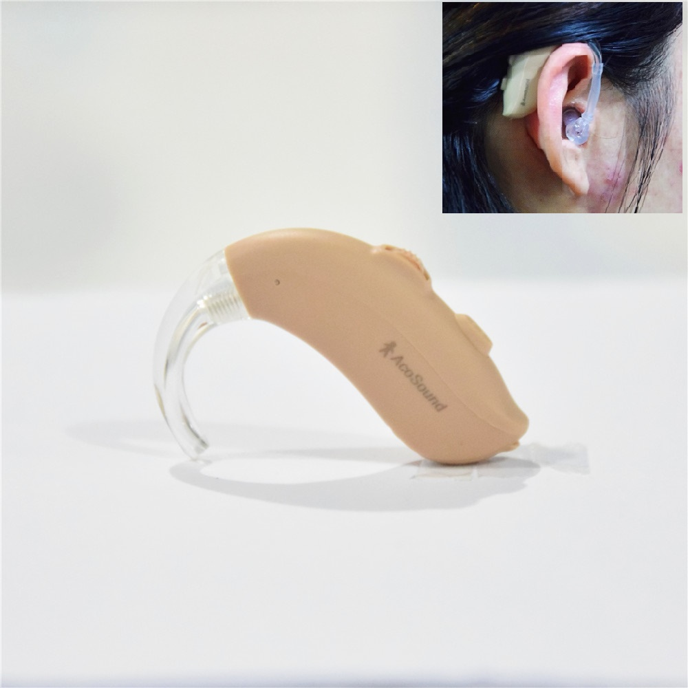 Acosound 420BTE Sound Amplifiers Digital Hearing Aids 4Channels BTE Hearing Aid For Deaf Ear Care Tools Hearing Device acosound invisible cic hearing aid digital hearing aids programmable sound amplifiers ear care tools hearing device 210if