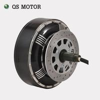 QS Motor 6000 W 273 50 H Elektrikli otomobil tekerlek Göbeği Motorlu Içinde V2
