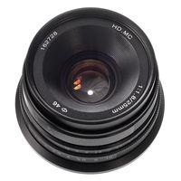25mm F/1.8 Prime Lens Manual Focus MF For Canon EOS M EF M Mount EOS M, M2, M3, M5, M6, M10, M100 Silver/Black
