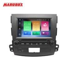 Marubox 2 דין אנדרואיד 9 4GB RAM עבור מיצובישי הנכרי XL 2006 2012 סטריאו רדיו GPS Navi DVD מולטימדיה לרכב נגן 8A710PX5