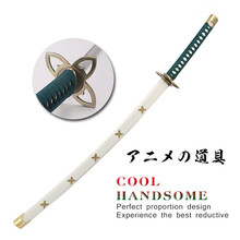 Japanese One Piece anime samurai sword high carbon steel white bleah cosplay Katana Espada Vintage home decor swords