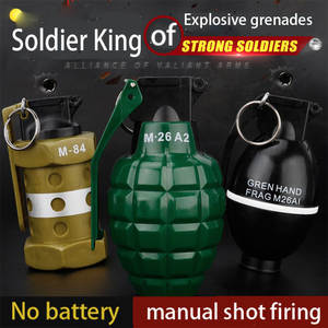 Toys Weapon Pistol Grenades-Toy Bursts-Gun Water-Bullet Snipe Outdoor Assault CS Graffiti-Edition