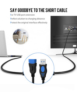 Image 3 - VOXLINK USB 2.0 Extension Cable  For PC Laptop Male to Female USB Charging Sync Data Extend Cable 1M 1.8M 3M 5M