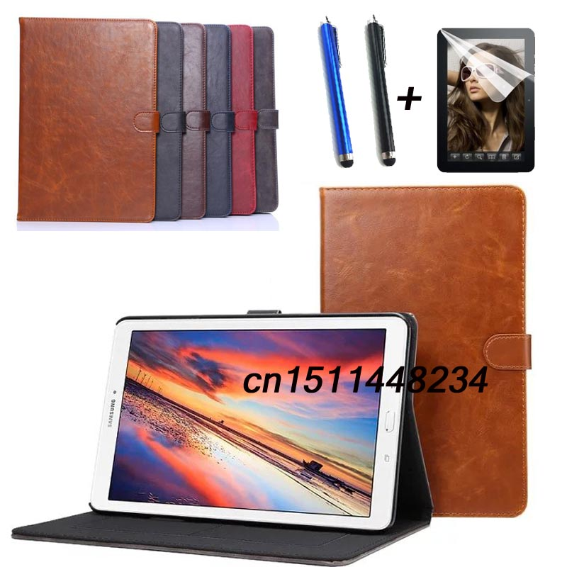 Case Cover Samsung Tab Galaxy For T561-Stand Flip Tab-E T560 High-Quality Luxury