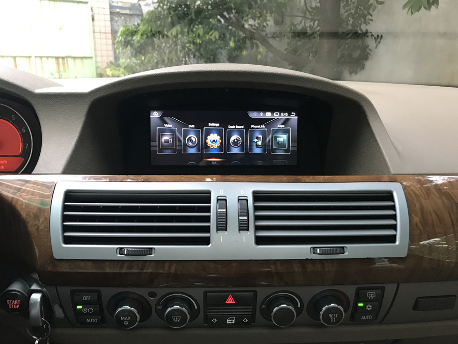 Navirider autoradio 8.8 Android 8.1 car gps player for BMW 7 Series E65 E66 touch screen stereo head units HU tape recorder