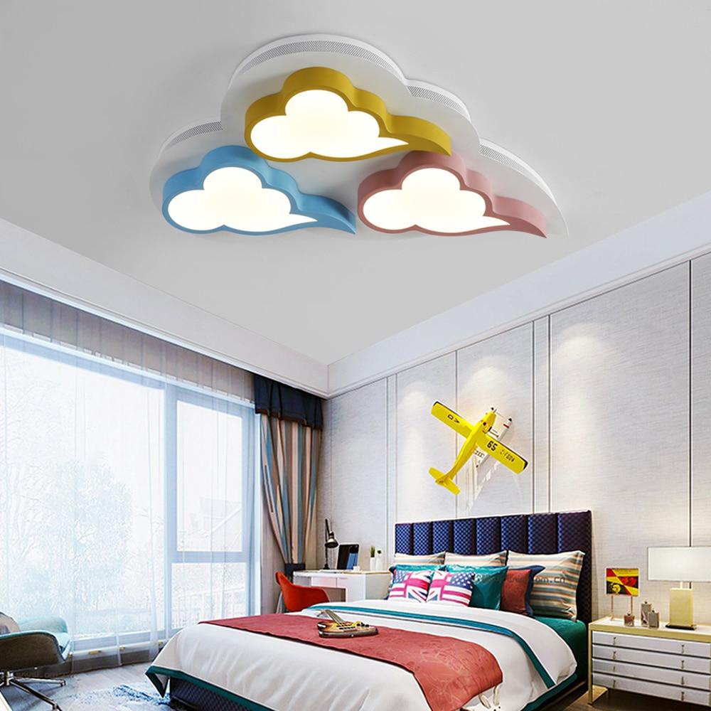 Licht & Beleuchtung Ehrlich Kinderzimmer Cloud Decke Licht Led Kreative Farbe Macaron Schlafzimmer Licht Warme Xiangyun Studie Lampe Lu811915