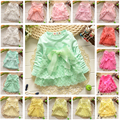 more 20 styles 2017 Hot sale baby dress New Casual Girls Top Kid Lace Bow Princess Long Sleeve Dress toddlers Clothes