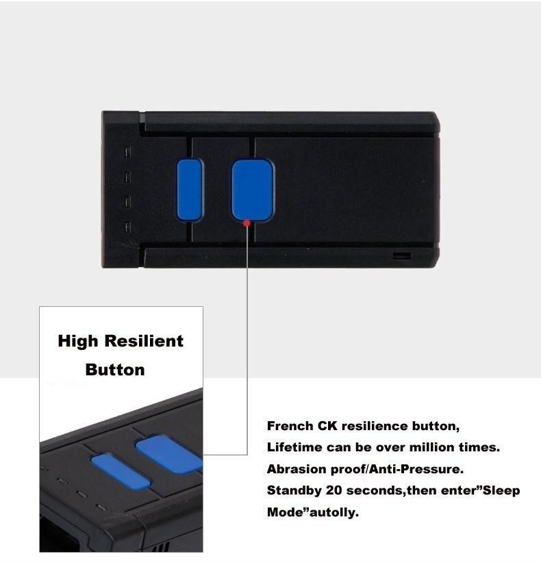 De Barras POS MINI Bluetooth Para Andriod IOS Telefone Móvel