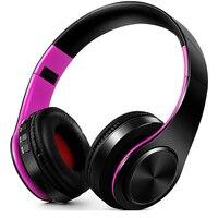 New Year P J 75 Bluetooth Earphone Headphone Sport Support TF FM Radio Bass For Computer