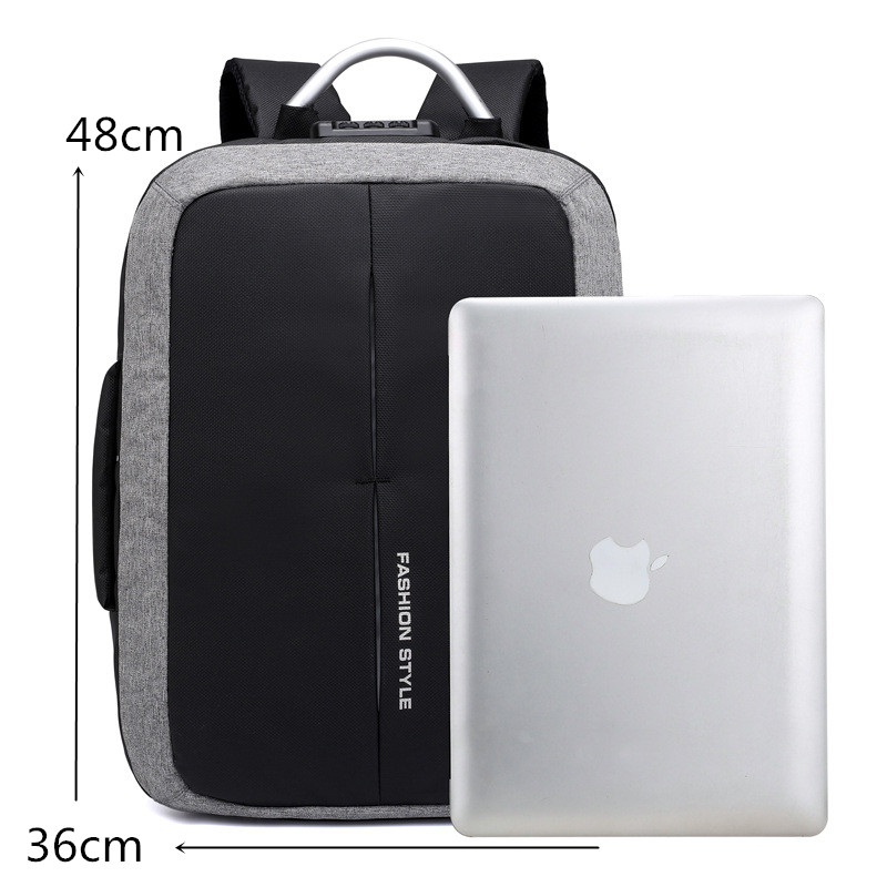 Men Backpack Travel TSA Lock Design Business Fashion Computer Backpack