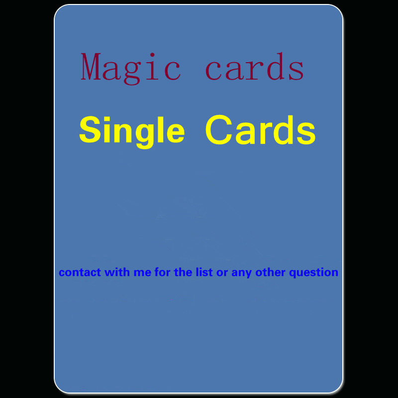 Single cards from my list Power Board Magical game Modern Legacy Mixed Vintage decks Black Core playing Cards gather lion
