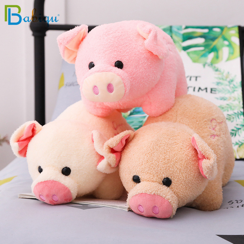 23 28 38cm Soft Kawaii Love Pig Plush Toy Stuffed Cute