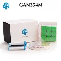 Più nuovo Originale Gan354M 3x3x3 Cubo Magnetico Gans 3x3x3 Cubo magico Professionale GAN 354 M 3x3 Velocità Cubo di Torsione di Giocattoli Educativi
