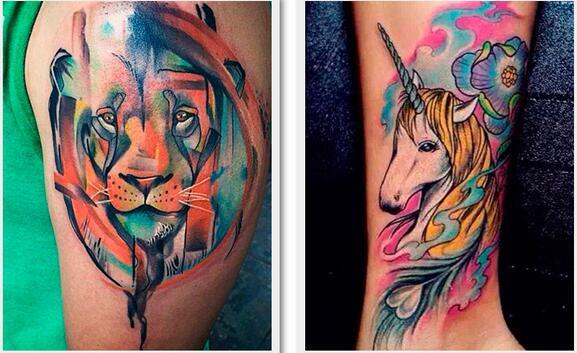 Tintas de Tatuagem delineador lábio corpo Tipo : Tinta de Tattoo