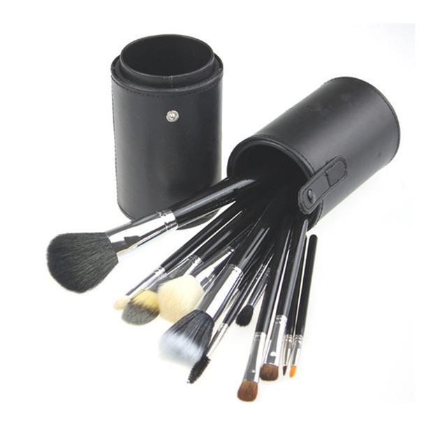 Melhor maquiagem Kits escova cabo de madeira pincéis de maquiagem escova de cabelo de alumínio suporte BS13X001 direto