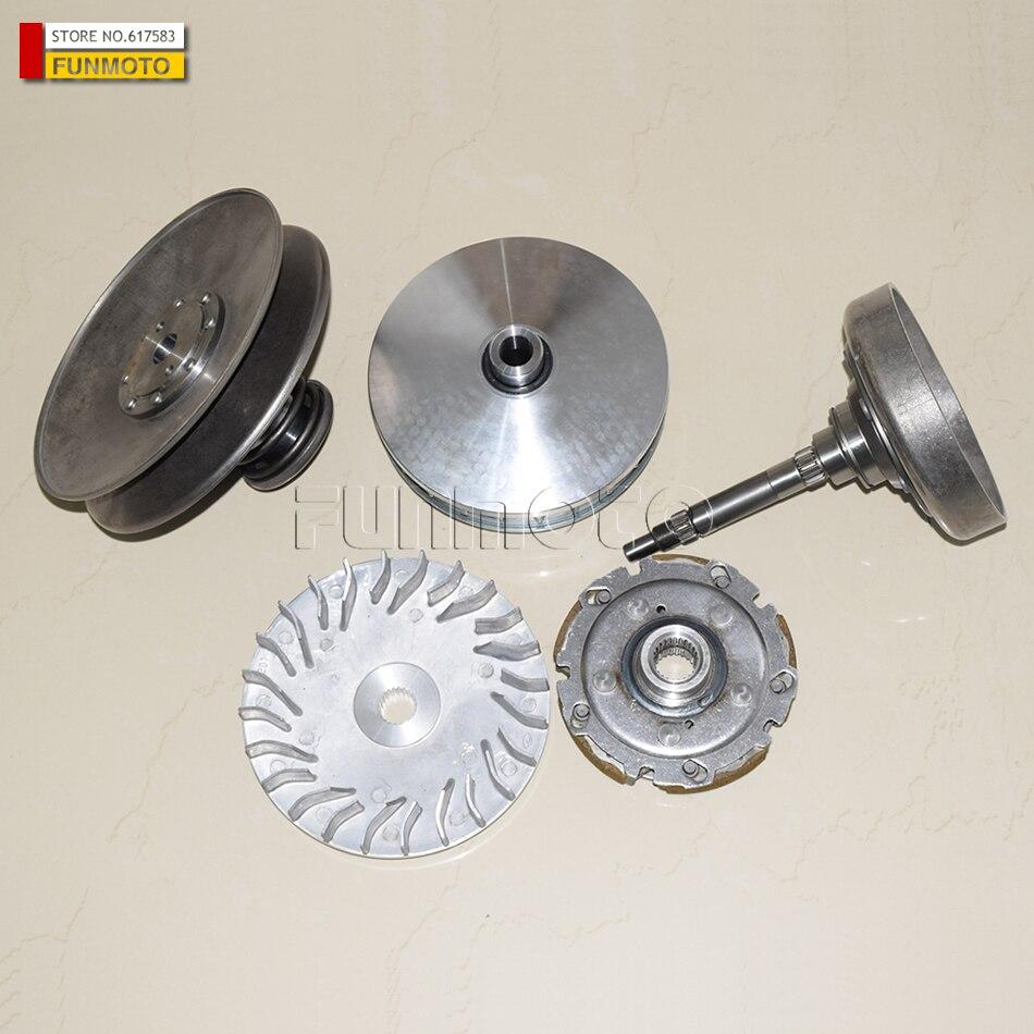 Cluth Scarpe E Kit Frizione Coperchio E Cvt Frizione Primaria Di Hisun 400 Atv E 'bene Anche Supermach/powermax/motobishi/massimo