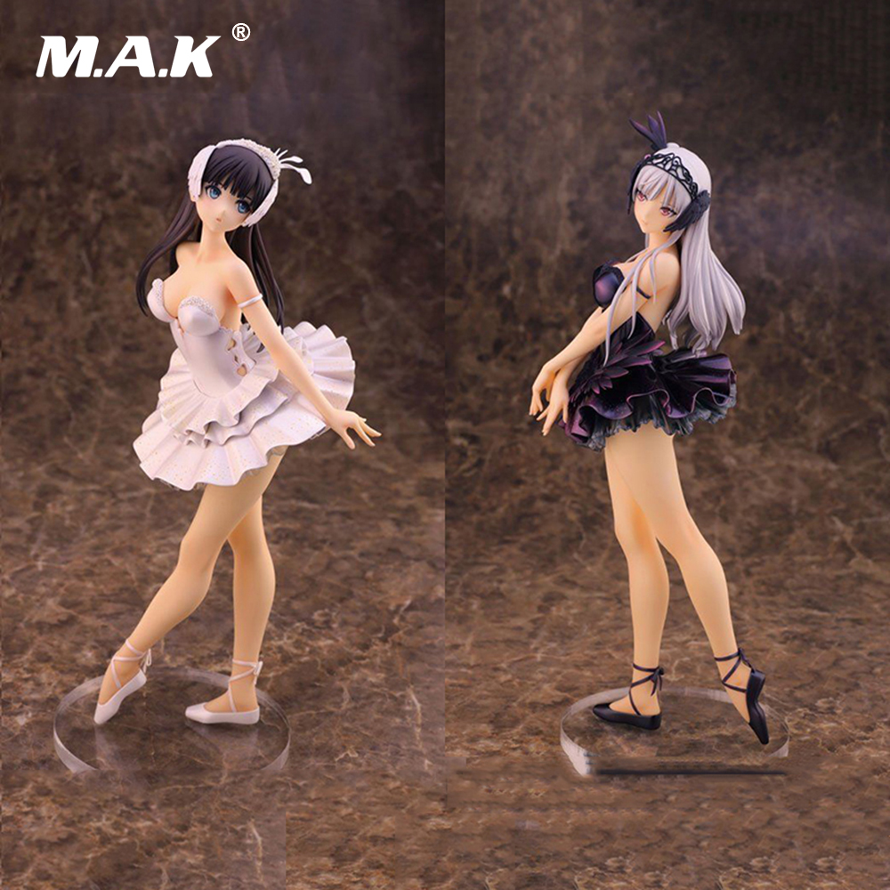 Collection Gift 22 cm Anime Figure Toy Black/White Swan Lake Odile Anime Figure Doll With PVC lake hills collection hssy156