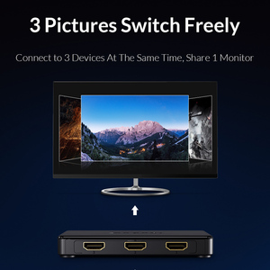 Image 3 - Unnlink HDMI Switch 3x1 5x1 HDMI 2.0 UHD4K@60Hz 4:4:4 HDCP 2.2 HDR 3 In 1 Out for smart tv mi box3 ps4pro xbox one xs projector