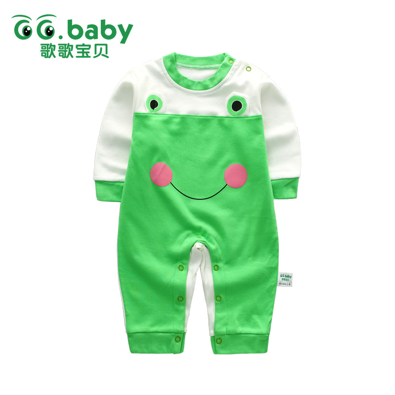 Winter Rompers Frog For Baby Boy Clothes Romper Long Sleeve Cotton Infantil Jumpsuit Newborn Baby Girl Clothes Costume Pajamas newborn baby clothes winter baby boy clothes cotton romper jumpsuit gentleman costume baby rompers infant boy clothes 0 12m