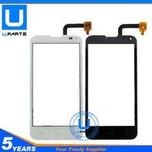 Écran Tactile Pour Fly IQ4415 IQ 4415 Quad Era Style 3 Black Blanc Capteur Écran Digitizer Remplacement 1 PC/Lot