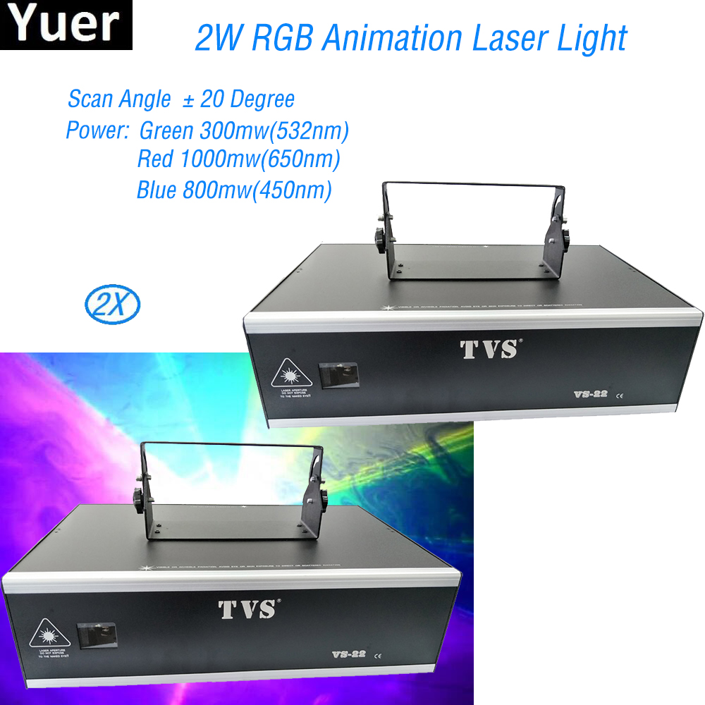 2Pcs/Lot Professional DJ Laser Stage Light Or LED 2W Animation Laser Lights RGB Stage Effect Lighting For Disco Light Xmas Party2Pcs/Lot Professional DJ Laser Stage Light Or LED 2W Animation Laser Lights RGB Stage Effect Lighting For Disco Light Xmas Party