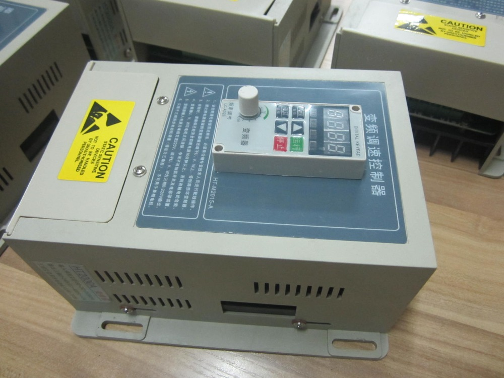 VFD Inverter HT2000A USED Second Hand frequency converter HT 220v 0 75kw for 750w 550w