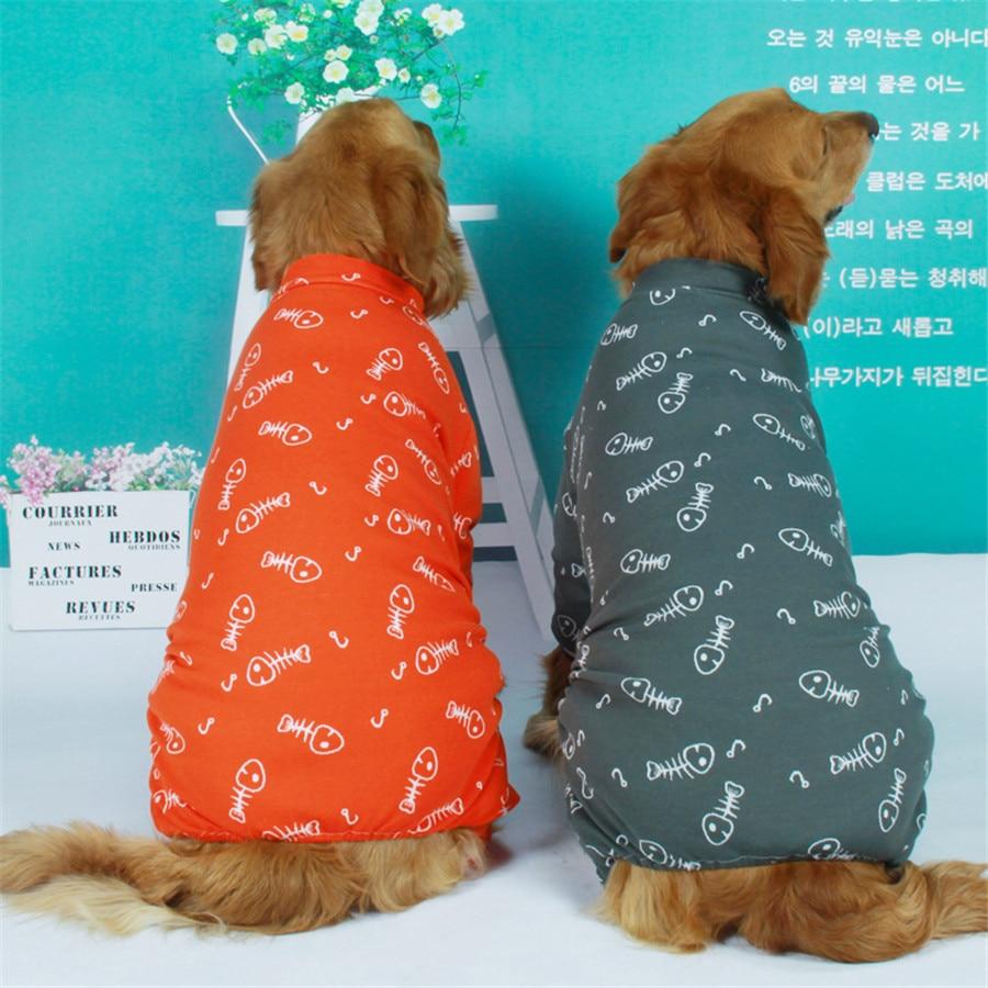 Cotton large dog clothes 2019 (1)