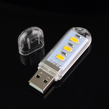 Mini USB LED Book lights 5730 Lamps Camping lamp For PC Laptops Computer Notebook Mobile Power Charger Reading Bulb Night light