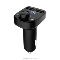 Car Bluetooth Charger Handsfree Car Kit FM Transmitter Car Accessories For Hyundai elantra ix35 solaris accent ix25 tucson i30