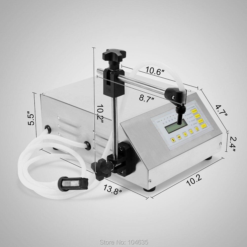GFK 160 Digital Control Pump Drink Water Liquid Filling Machine Bottle Filling Machine Electric Filler Machine