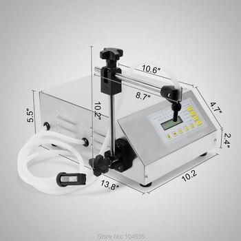 цена на GFK-160 Digital Control Pump Drink Water Liquid Filling Machine  bottle filling machine  electric filler machine 5-3500ml