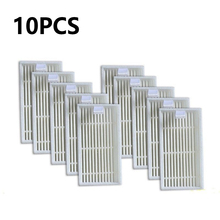 10 pcs/lot Robot Vacuum Cleaner HEPA Filter replacement for Chuwi ilife V1 Robotisc Vacuum Cleaner ilife V1 V5 V5s V3 Supplies free shipping 4 pieces 3 arm side brush replacement for chuwi v3 v3 v5 v5pro ilife v3 robot vacuum cleaner