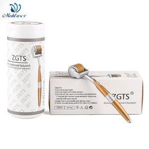 Image 1 - Titan ZGTS Derma Walze DRS Micro Nadeln Akne Poren Flecken falten Entfernung Feuchtigkeitsspendende Haarausfall Behandlung Gesichts Mezoroller