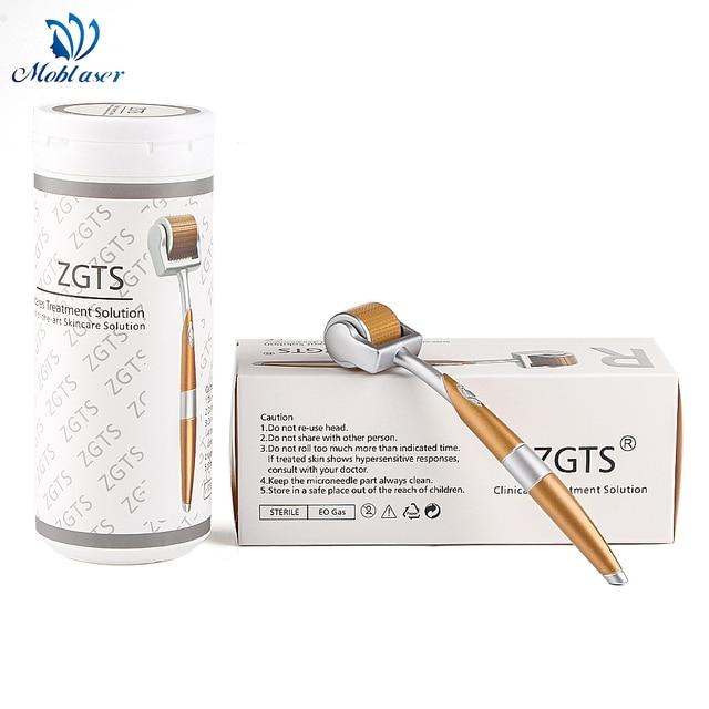 Titan ZGTS Derma Walze DRS Micro Nadeln Akne Poren Flecken falten Entfernung Feuchtigkeitsspendende Haarausfall Behandlung Gesichts Mezoroller