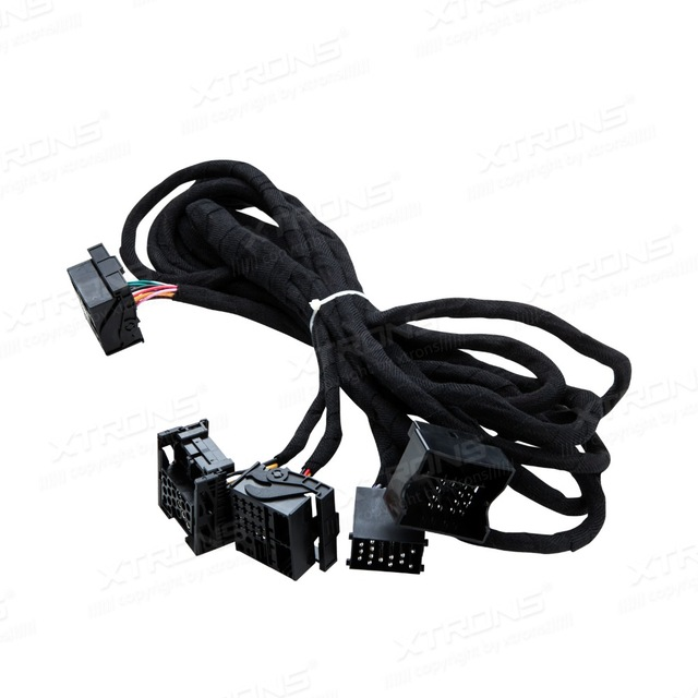 Удлиненные 6 метров по стандарту ISO жгут проводов для BMW подходит для автомагнитол с Quadlock связи