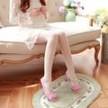 Primavera e summer sapatos de ballet arco calças boca pé calças femininas