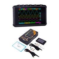 DS213 Мини цифровой осциллограф 4 канала 100 мс/с ЖК дисплей USB осциллограф карманный осциллограф
