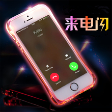 Luxury Bling Stars Dynamic Liquid Quicksand Clear Phone Case For iPhone 5 5S SE 6 6S 7 8 Plus X XR Led Flash Light Up Girl Cover little girl pattern led flash light protective pc back cover case for iphone 5 5s pink