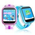 Q100 gps inteligente telefone do relógio do bebê crianças smart watch gps localização Wifi Tela Sensível Ao Toque de Chamada SOS Anti-Lost Dispositivo Rastreador crianças Q90 +