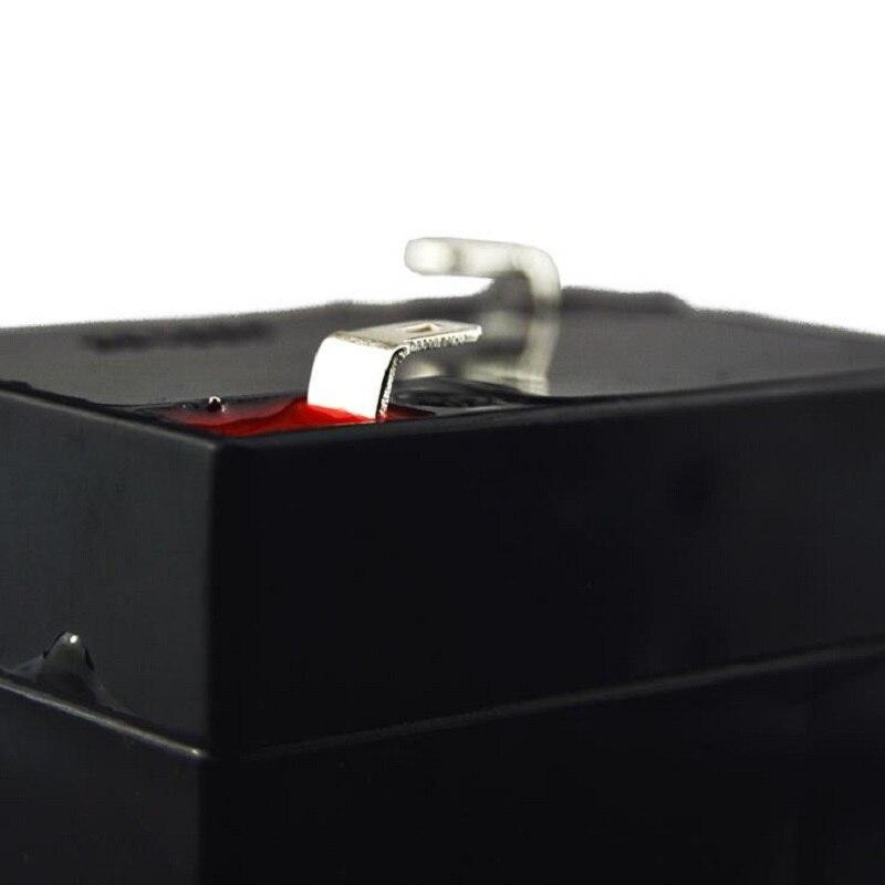 6 В 4Ah Батарея свинцово-кислотная Перезаряжаемые Аккумуляторы Питание для детей автомобиль Настольная лампа светодиодные фонари электронн...