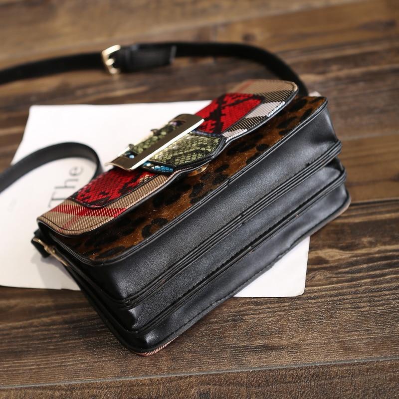 cobra bolsa de ombro bolsa Number OF Alças/straps : Único