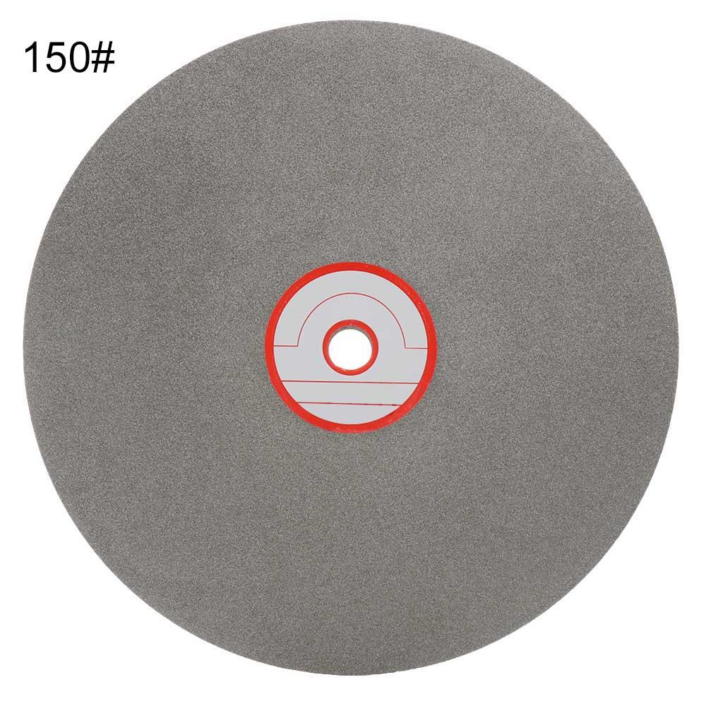 8 Inch 150 Grits Diamond Glass Grinding Flat Lap Disc Polishing Wheel