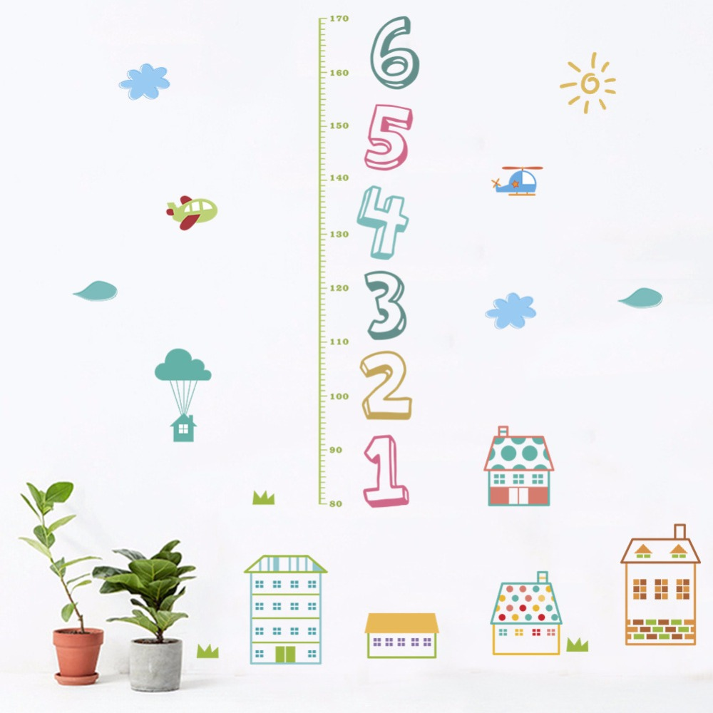 US $2.8 39% OFF|% 3d cartoon House city alphabet Height wall stickers House Plant Chart on weed chart, house paint chart, house color chart, vegetables chart, fish chart, house cat chart, poisonous plants chart, house garden chart, fern chart, house building chart, flower chart, bird chart, house animals chart, apple chart, herb chart,