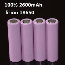 4pcs lot 3 7v 2600mah original 18650 rechargeable li ion battery for icr18650 26f icr18650 26f.jpg 250x250