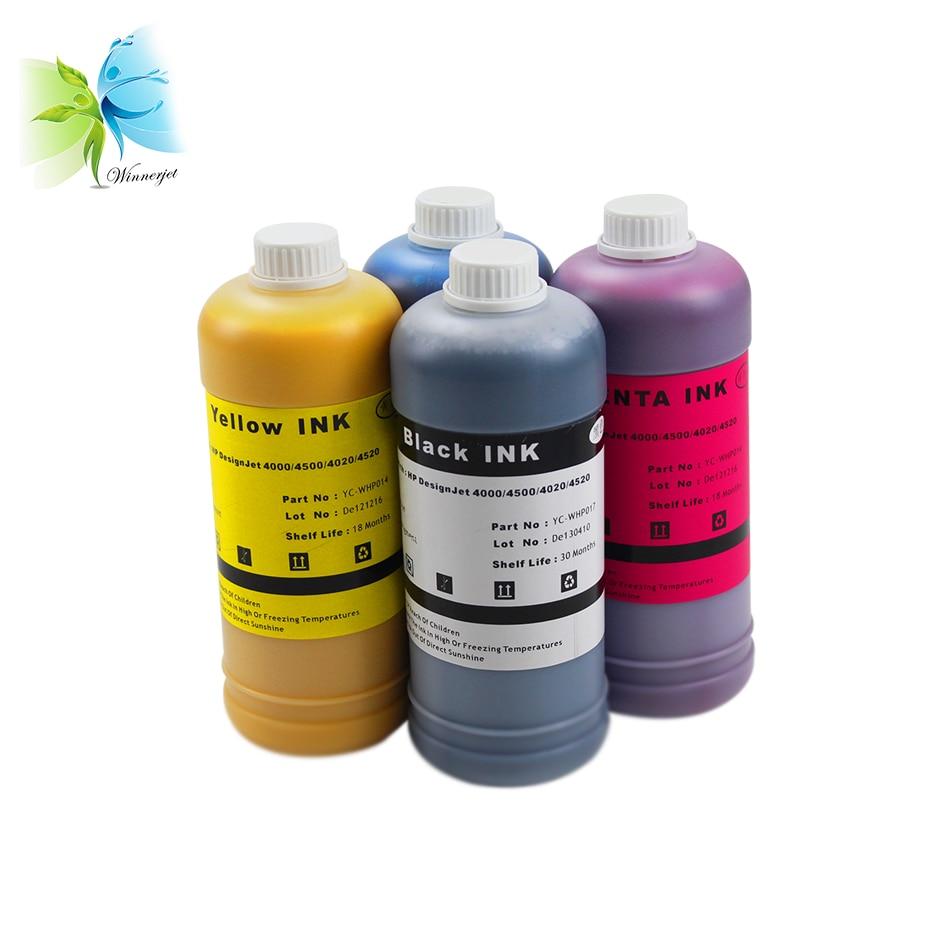 (4 liters/lot, BK/C/M/Y)for HP Designjet 4000 4500 4020 4520 refill ink