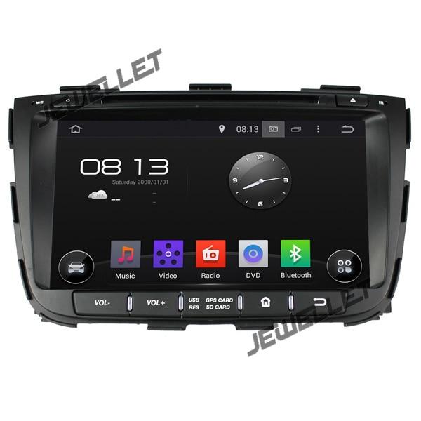 Quad core 1024*600 HD écran Android 9.0 DVD GPS radio Navigation pour Kia Sorento 2013-2014 avec 4G/wifi, DVR, disque de V-20, POP, 1080 P