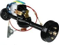 DC60V/72 V 2000W bezszczotkowy pojazd elektryczny moc 1:10/1:20 przesunięcie zintegrowana tylna oś montaż silnika + kontroler + skrzynia biegów w Akcesoria do elektronarzędzi od Narzędzia na
